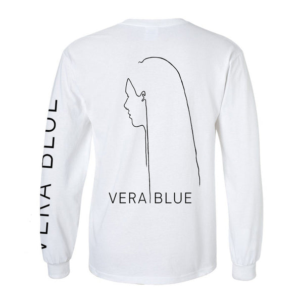 Vera Blue long sleeve T-shirt white back