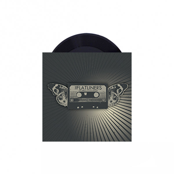 "The Flatliners - Great Awake Demos 7"" (Black)"