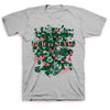 Beach Slang - Flowers T-shirt Grey