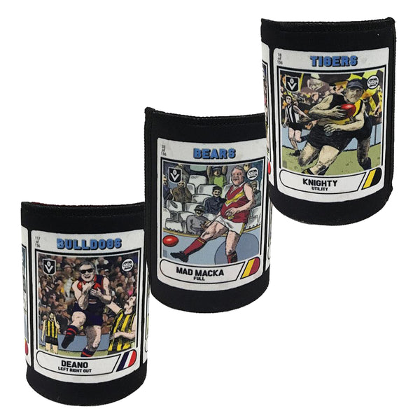 Footy Card Stubby Holder
