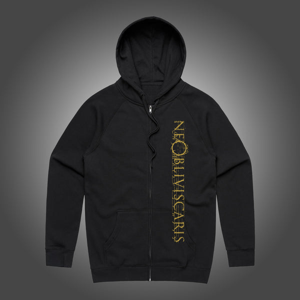 Ne Obliviscaris - Forget Not Zip Hoodie (Black) front