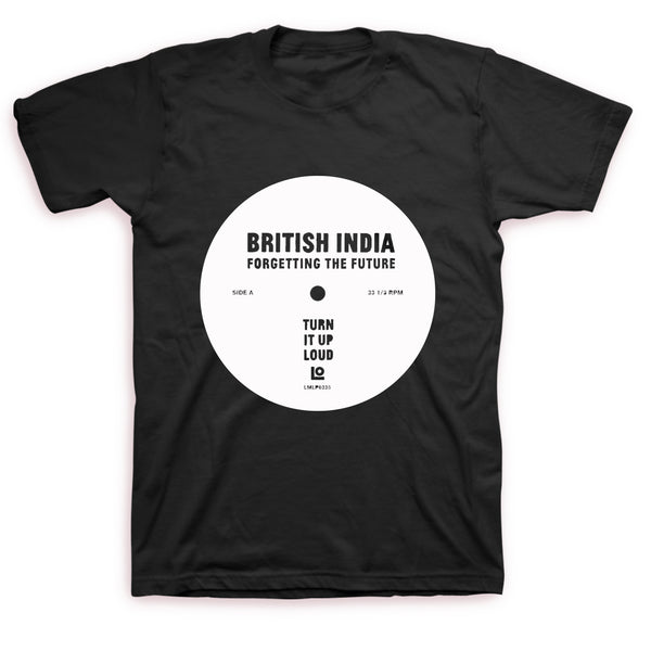 British India - Forgetting The Future T-shirt (Black)