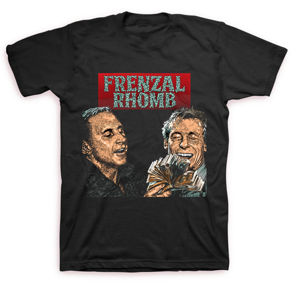 Frenzal Rhomb - We Lived Like Kings T-shirt (Black)