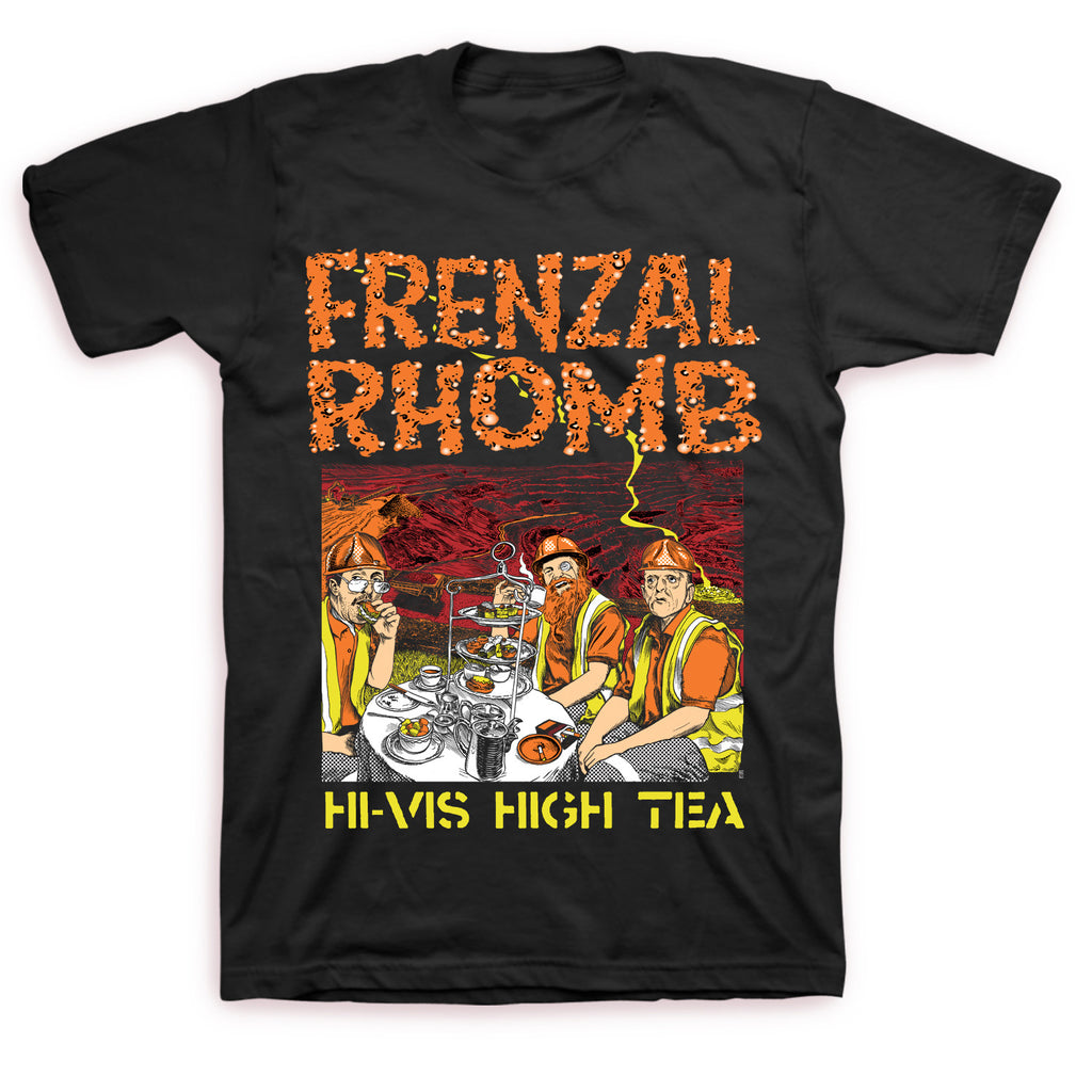 Frenzal Rhomb - Hi-Vis High Tea T-shirt