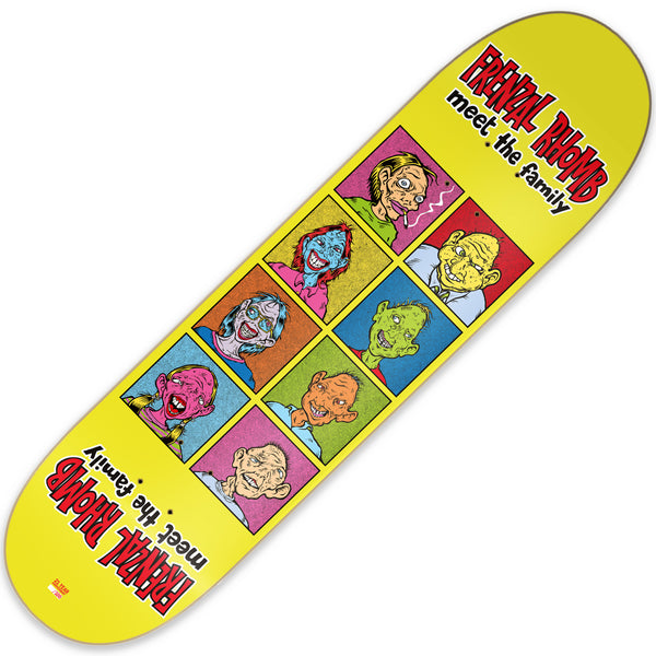 Frenzal Rhomb - Meet The Family 21st Anniv. Skate Deck (Limited Edition)