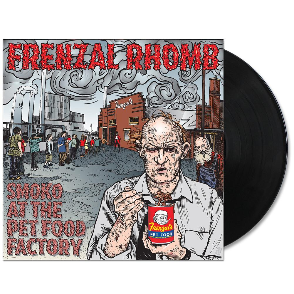 Frenzal Rhomb - Smoko At The Pet Food Factory LP (Black)