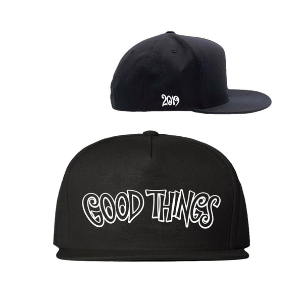 Good Things 2019 Snapback (Black)
