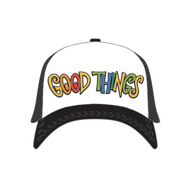 Good Things 2019 Trucker Hat (Black/White)