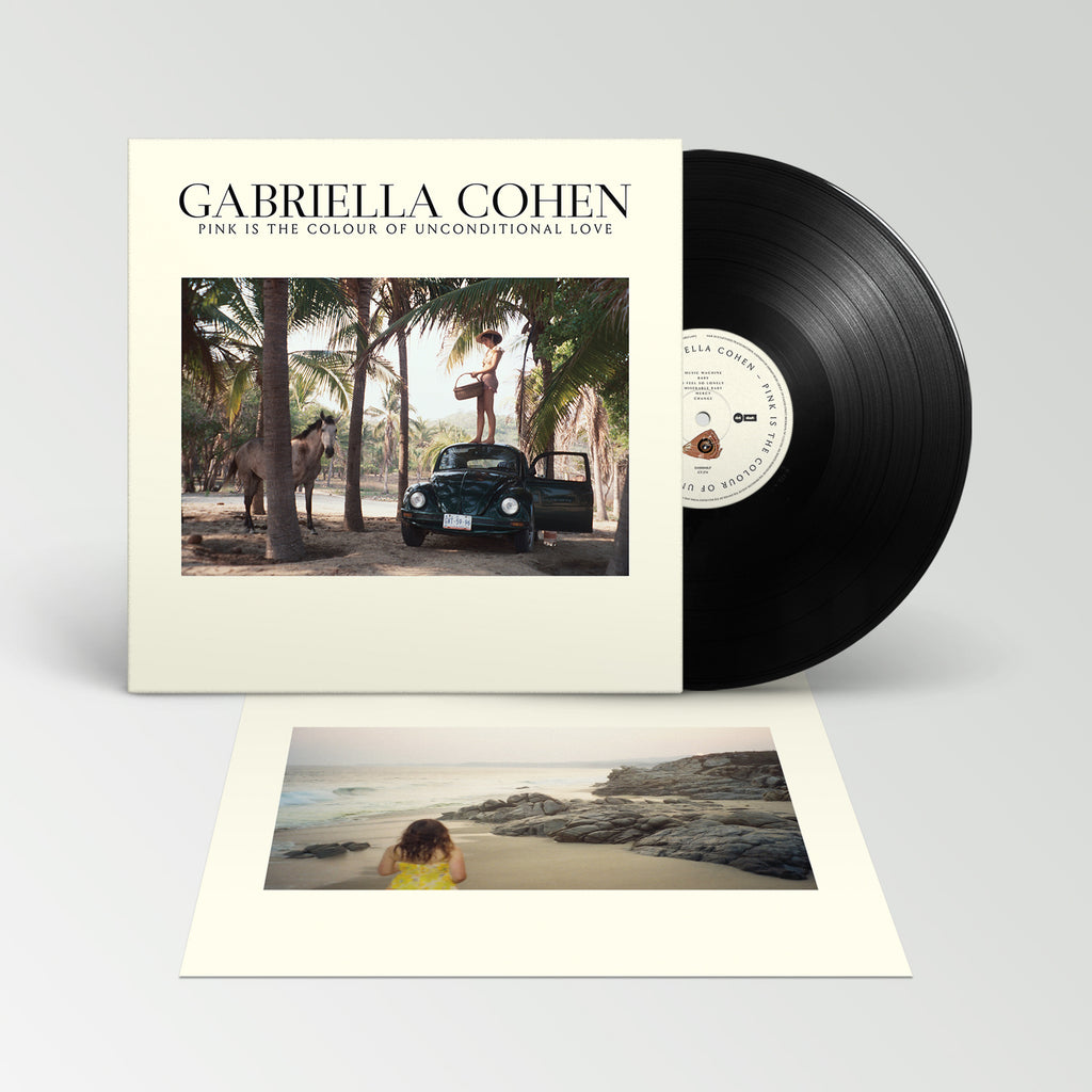 Gabriella Cohen - Pink Is The Colour of Unconditional Love LP (Black)