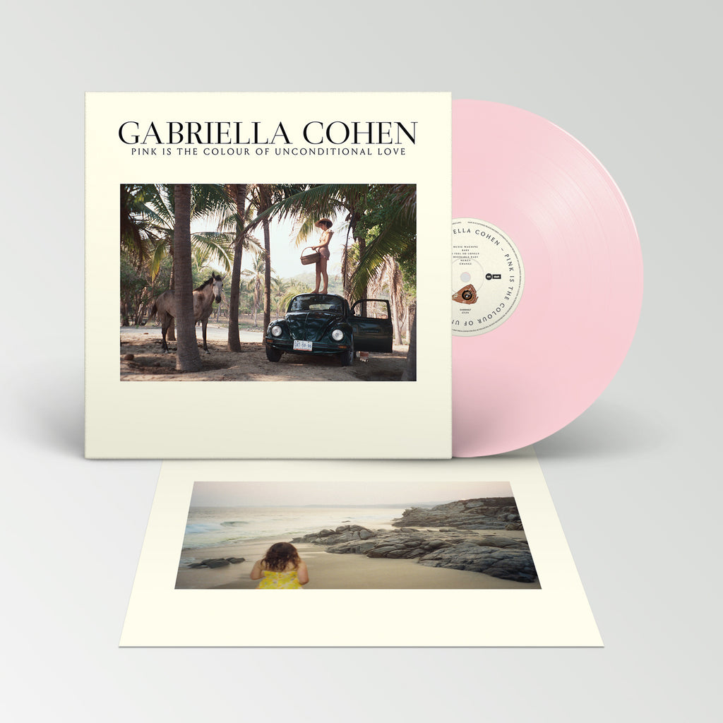 Gabriella Cohen - Pink Is The Colour of Unconditional Love LP (Pink)
