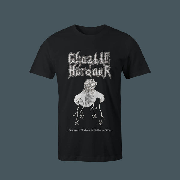 Ghoatte Hordour - Blackened Blood On The Suthourn Altar Download + T-Shirt