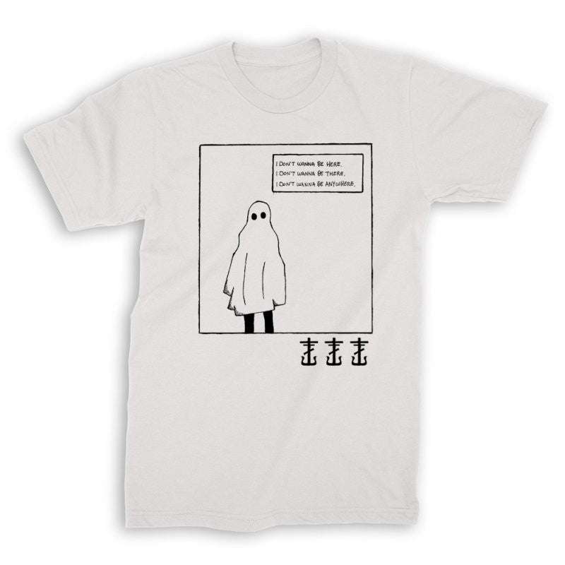 Frank Iero - Ghost T-shirt White