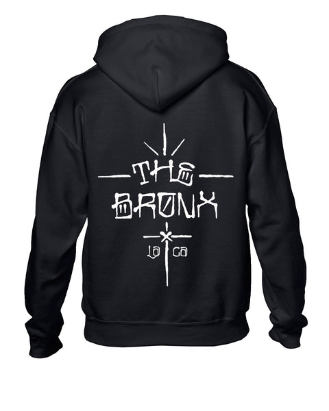 The Bronx - Graf Logo Pullover Hoodie (Black) Back