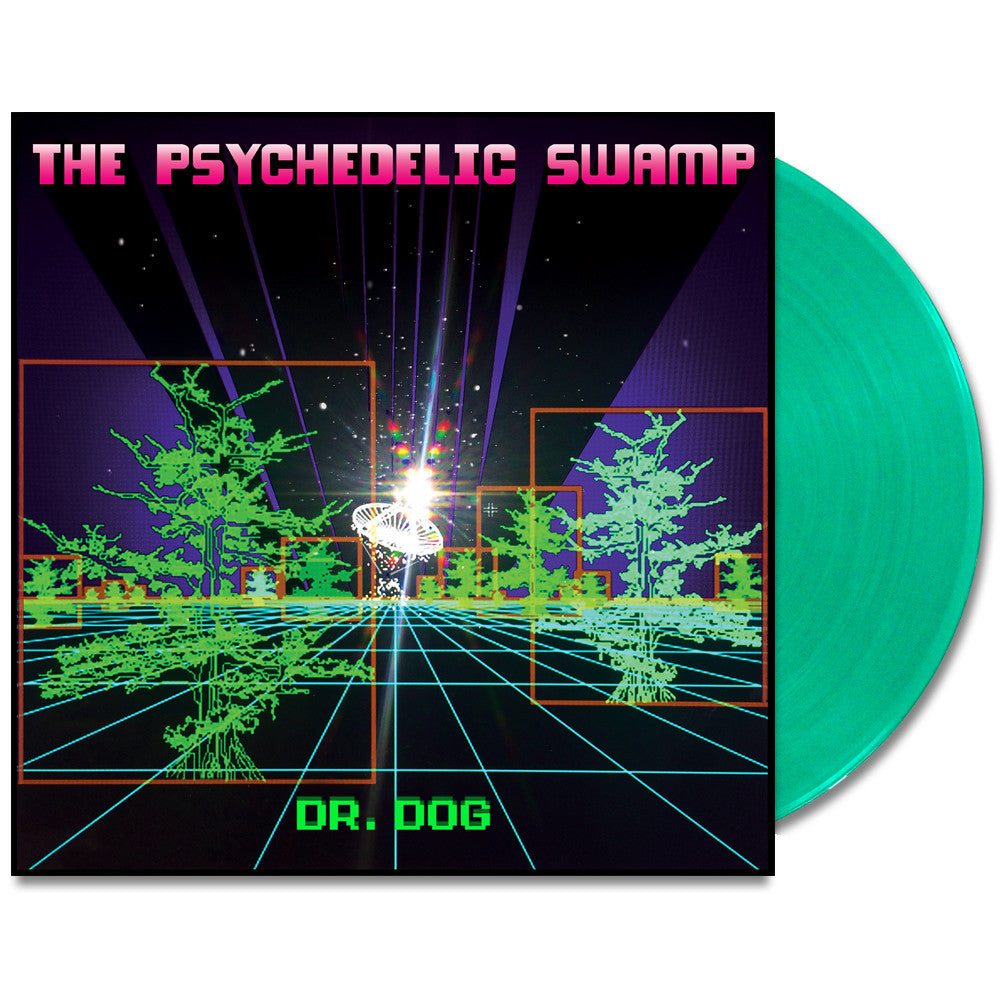 Psychedelic Swamp LP (Slime Green)