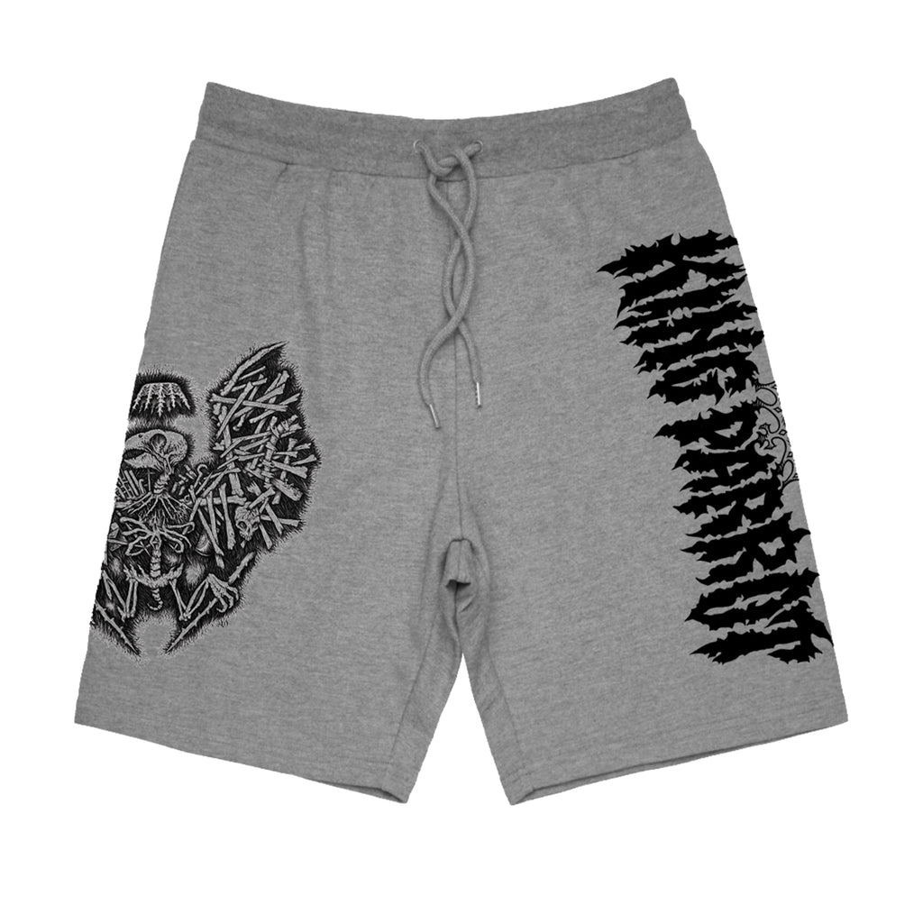 King Parrot - Holed Up In The Lair Shorts (Grey)