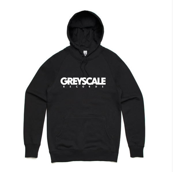Greyscale Records Pullover Hoodie Black