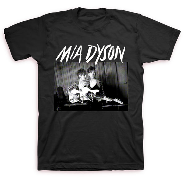 Mia Dyson - Guitar Photo Tee (Black)