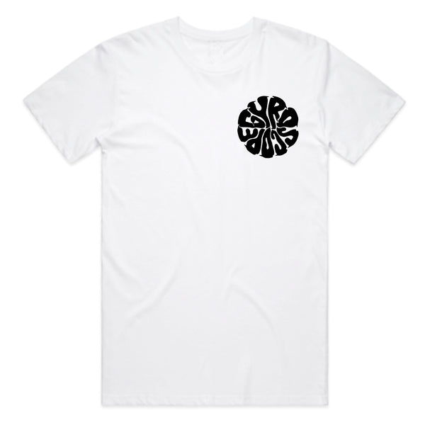 Gyroscope - Liquid Logo T-Shirt (White)