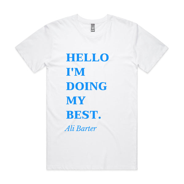 Ali Barter - Hello, I'm Doing My Best Tee (White)