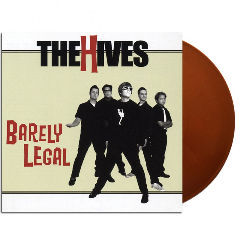 The Hives - Barely Legal LP (180g Bronze)
