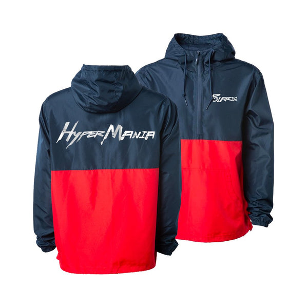 Polaris - Hypermania Windbreaker (Navy/Red)