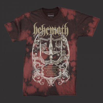 Behemoth - Harlot T-shirt (Red Tie Dye)