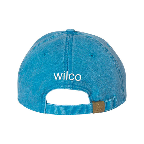 Wilco - Summerteeth Hat (Blue) back
