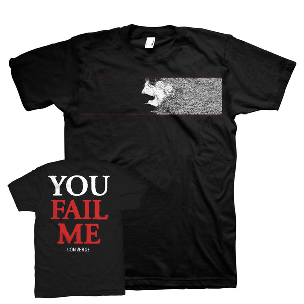 Converge You Fail Me Redux Haunt T-shirt Black