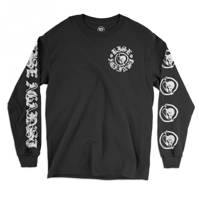 Rise Against Heartfist Stamp Longsleeve Tee Black