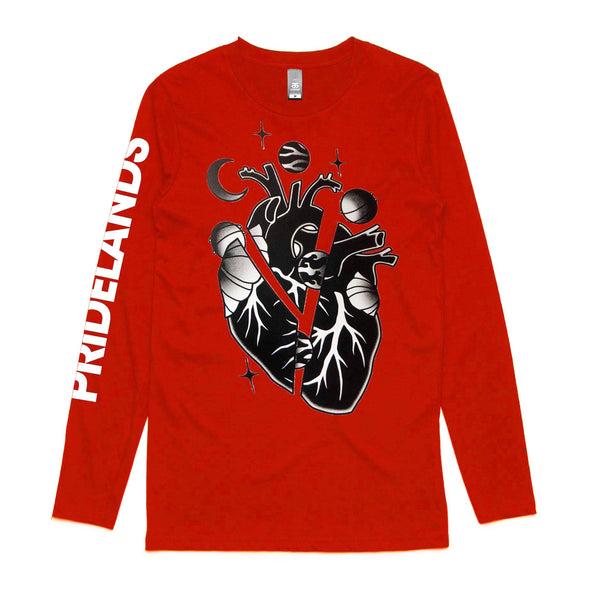 Pridelands - Heart Longsleeve (Red)