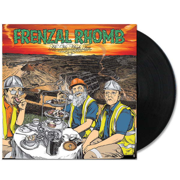Frenzal Rhomb - Hi-Vis High Tea LP (Black)