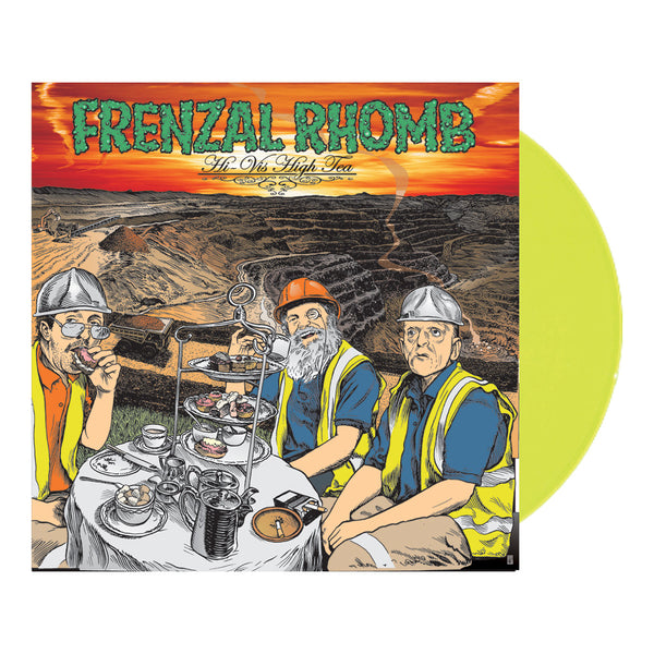 Frenzal Rhomb - Hi-Vis High Tea LP (Transparent Highlighter Yellow)
