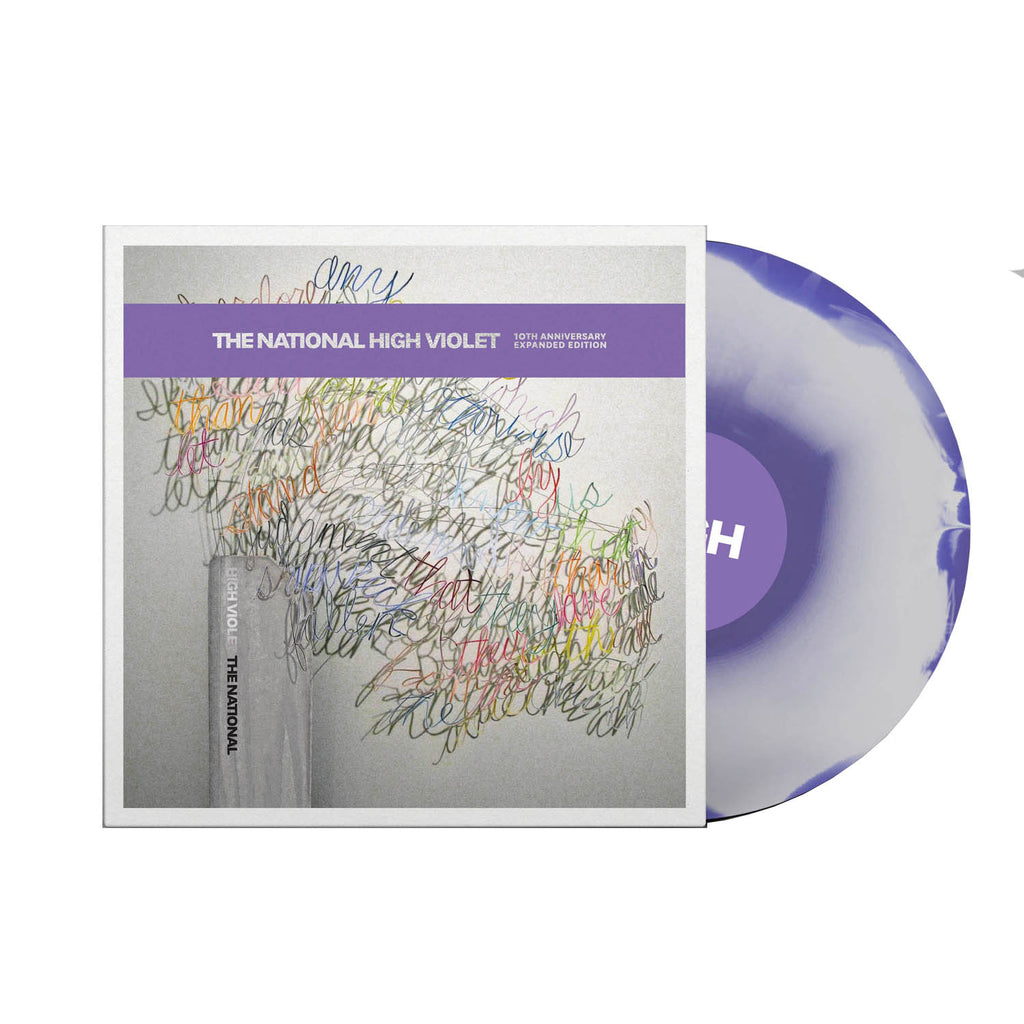 The National - High Violet 10th Anniversary 3LP (White & Purple marble)