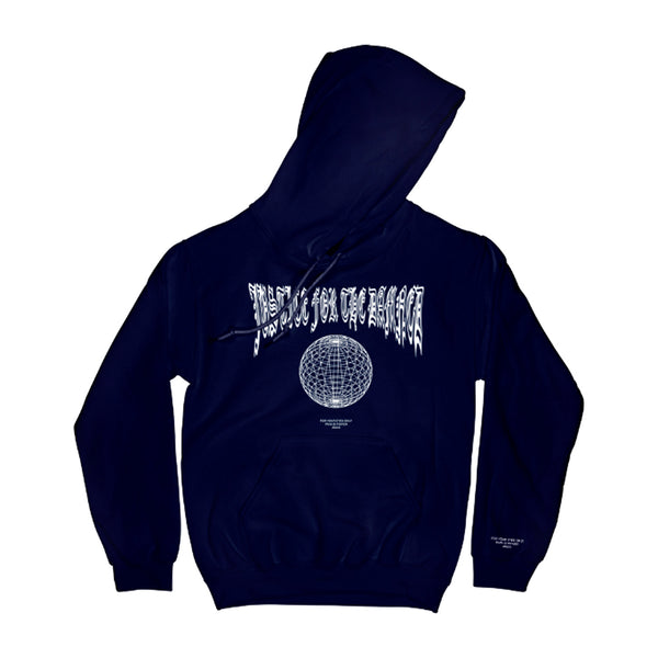 Justice For the Damned - Pain Is Power Hoodie (Navy)