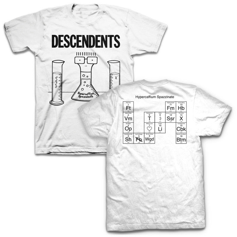 Descendents Hypercaffium Spazzinate T-shirt White