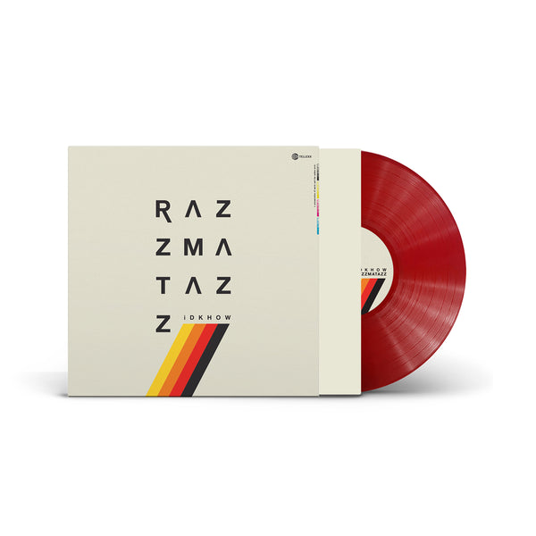 iDKHOW - RAZZMATAZZ LP (Red)