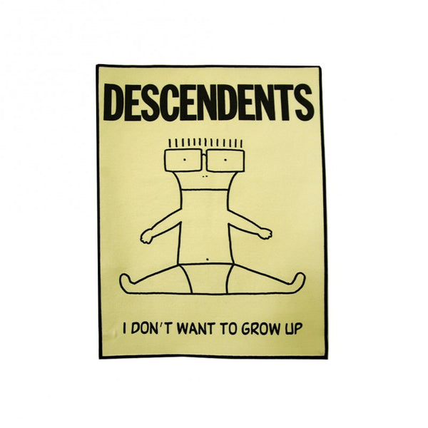 Descendents - I Don't Want To Grow Up Back Patch