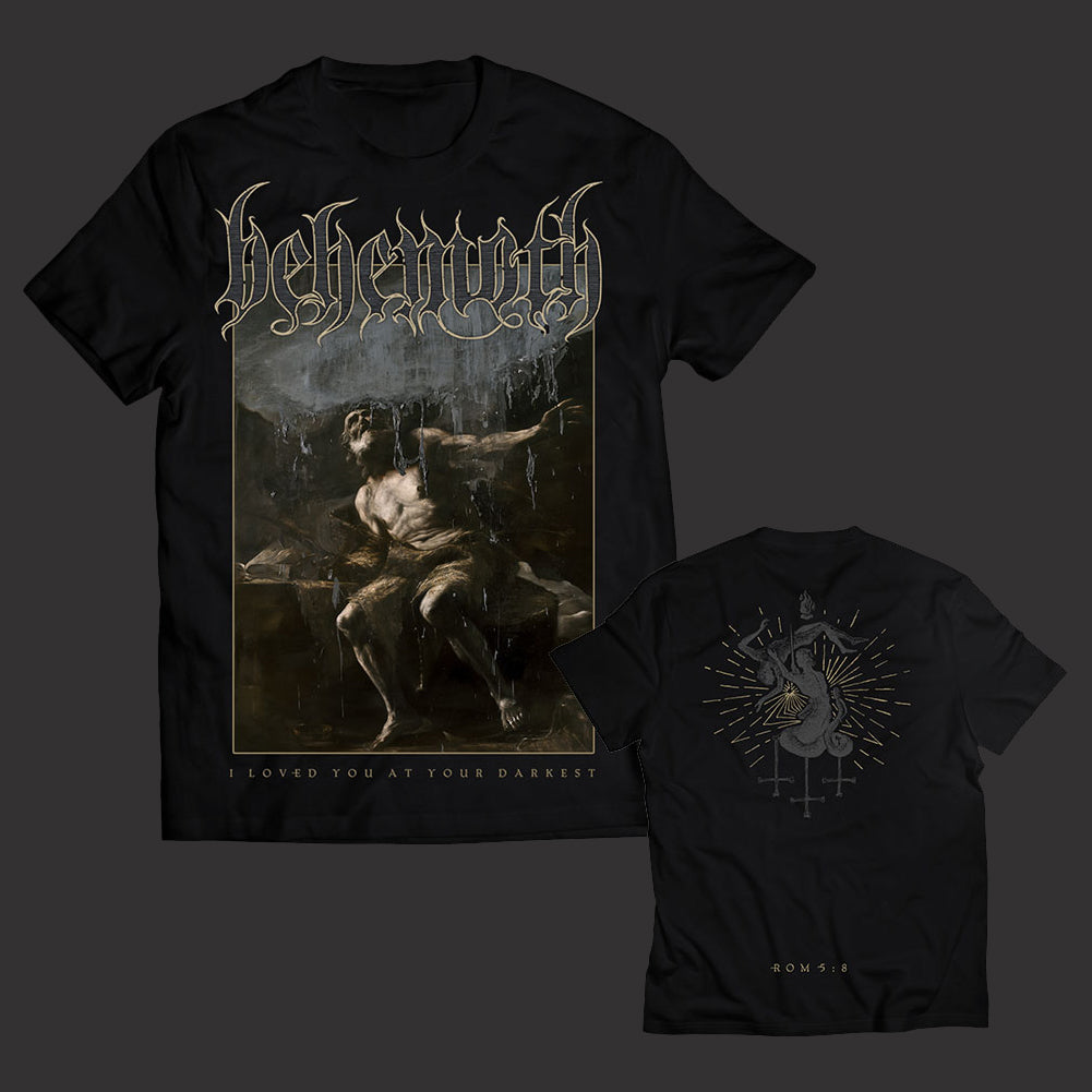 Behemoth - I Loved You At Your Darkest Cover T-shirt (AUS exclusive)