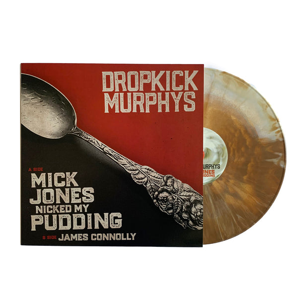 "Dropkick Murphys – Mick Jones Nicked My Pudding 12"" (White/Brown Pudding)"