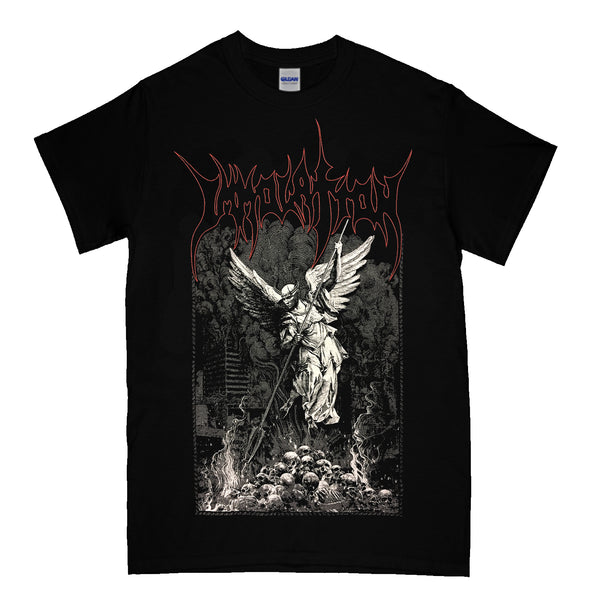 Immolation - Angel Skull T-Shirt (Black)