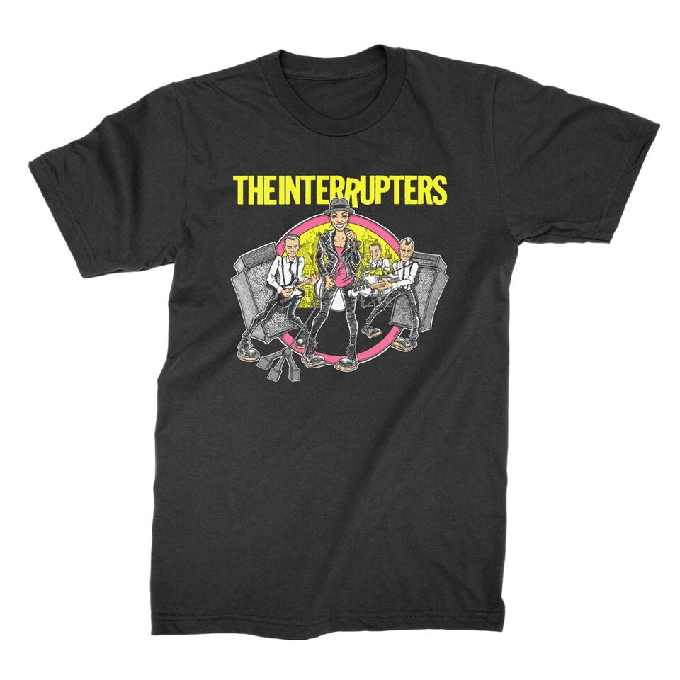 The Interrupters - Road To Ruin T-shirt (Black)