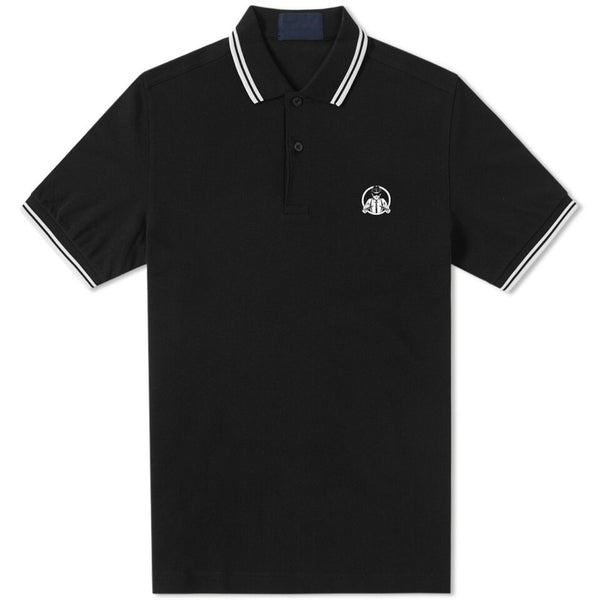 The Interrupters - Suspenders Polo Shirt (Black)