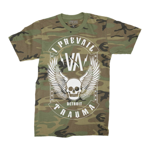 I Prevail - Winged Skull Camo Tee