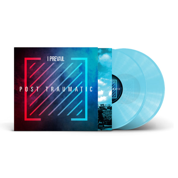 I Prevail - Post Traumatic - Live/Deluxe 2LP (Transparent Electric Blue)