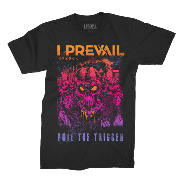 i Prevail - PTT Zombie T-shirt (Black)