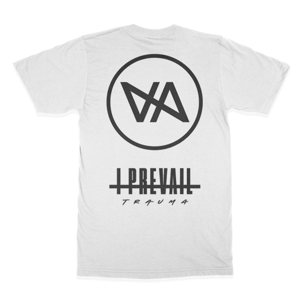 I Prevail - Diagonal Tee (White) front