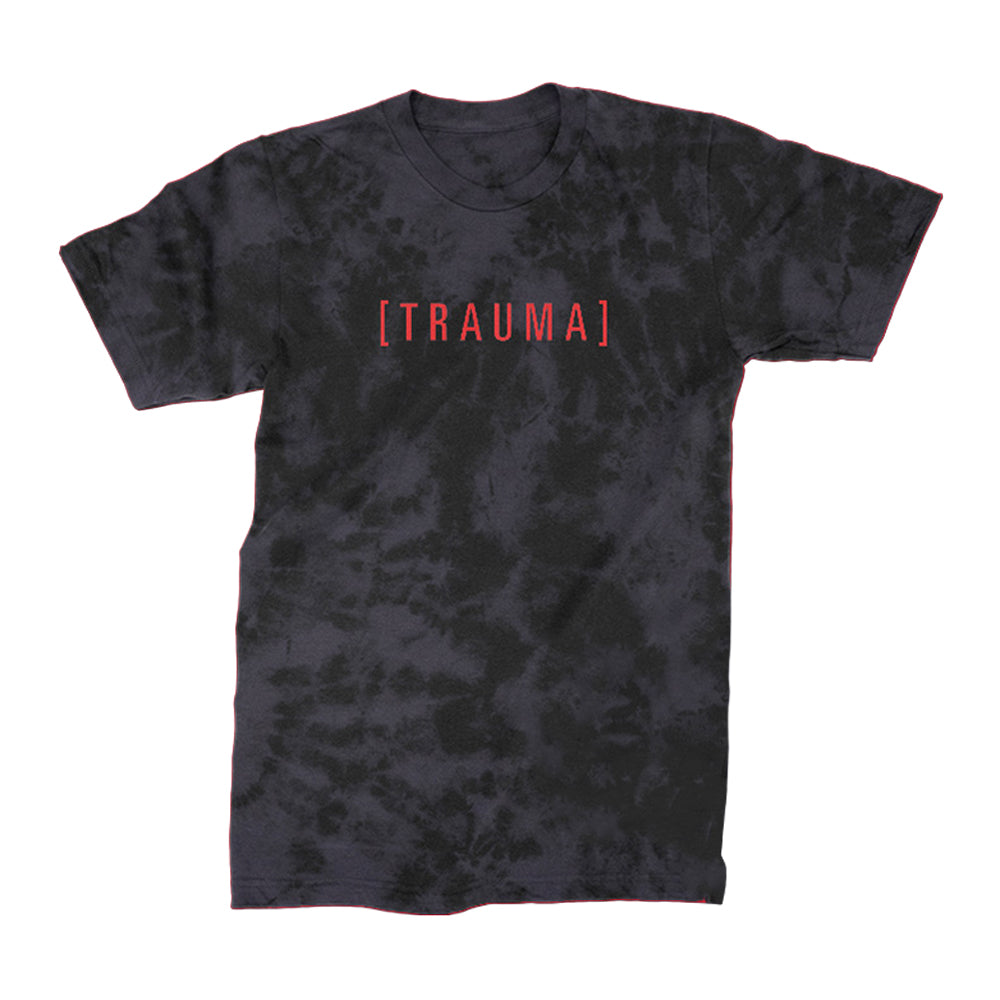 I Prevail - Trauma Acid Wash Tee - front