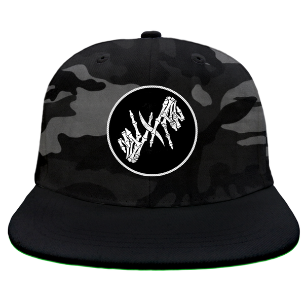 I Prevail - Skele Patch Night Camo Snapback