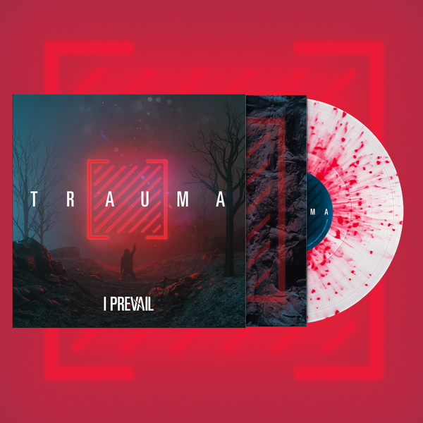 I Prevail - Trauma LP (Ultra Clear w/ Neon Magenta Splatter)