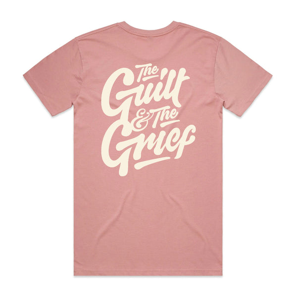 Polaris - The Guilt & The Grief T-Shirt (Rose w/ Bone Ink)